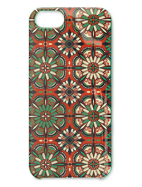 Folklore Mosaic Teal Case, MULTI