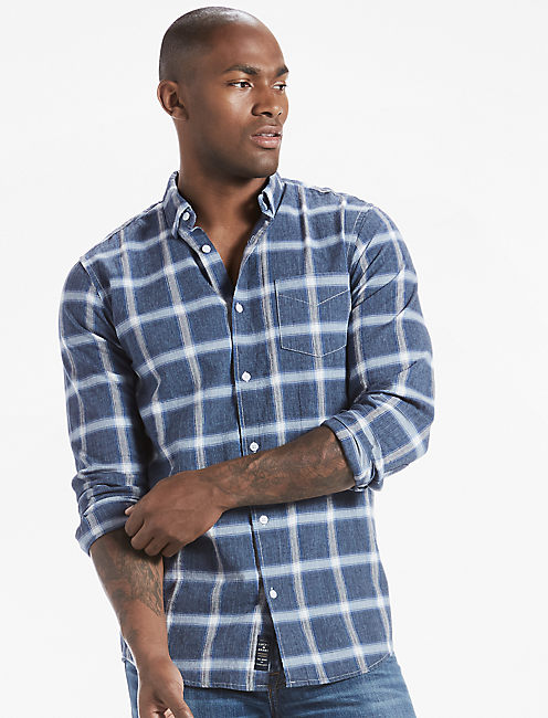 Heathered Dobby One Pocket Shirt,