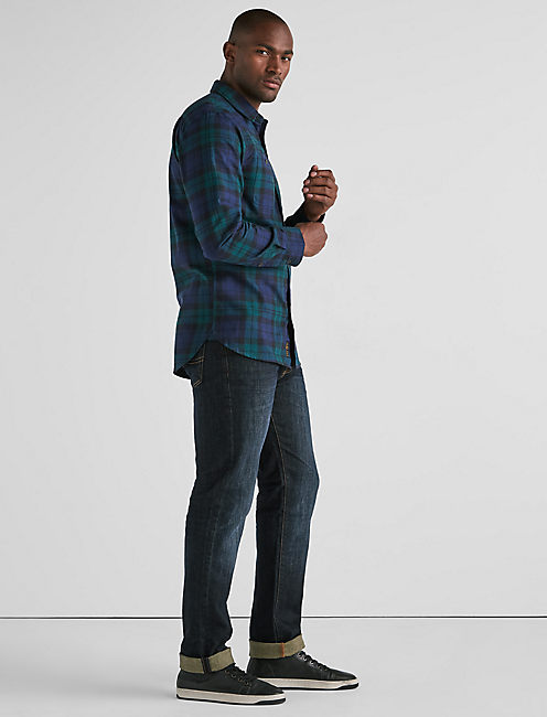 Lucky Mason Workwear Flannel Shirt