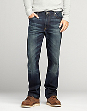 181 Relaxed Straight Jeans*