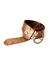 Adele Floral Embossed Belt