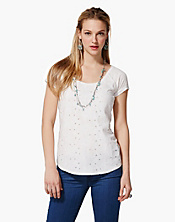 Amazon Lily Cut-Out Tee