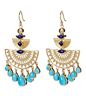 Amrapali Collection Chandelier Earrings