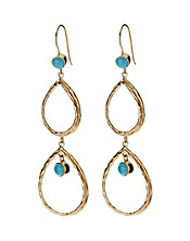 Amrapali Collection Double Oblong Earrings