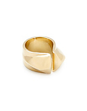 Amrapali Collection Gold Spike Ring