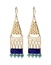 Amrapali Collection Hinged Drop Earrings