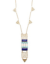 Amrapali Collection Hinged Pendant Necklace