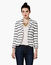 Blaine Striped Blazer