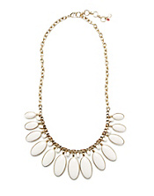 Bone Set Stone Collar Necklace