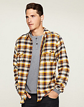 Bronson Plaid Two-Pocket Shirt*
