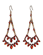 Carnelian Chandelier Earrings