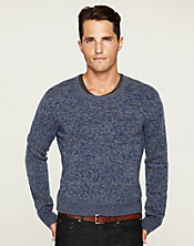 Cashmere Marl Crewneck Sweater*