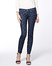 Charlie Skinny Polka Dot Ikat