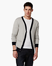 Contrast Cardigan