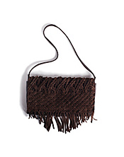 Daisy Macrame Crossbody Clutch*