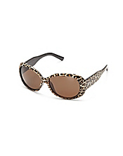 Del Mar Leopard Sunglasses