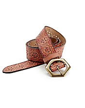 Embossed Star Belt