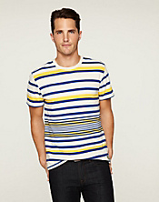 Engineered Striped T-Shirt*