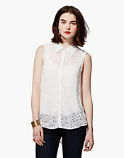 Eyelet Joni Top