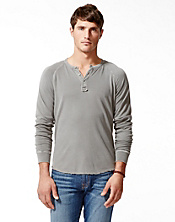 Garment Dye Henley