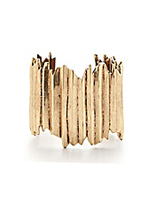 Gold Angular Cuff