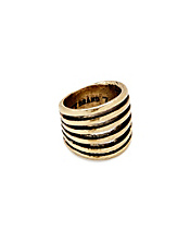 Gold Multi Band Ring