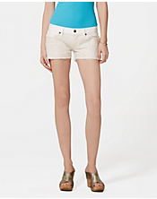 Irving & Fine Embroidered Shorts