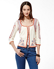 Irving and Fine Embroidered Jacket