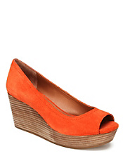 Issy Peep-Toe Wedges*
