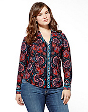 Joan Scarf Blouse