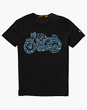 Johnson Motors Cycledelic T-Shirt