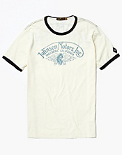 Jomo Winged Wheel Ringer T-Shirt