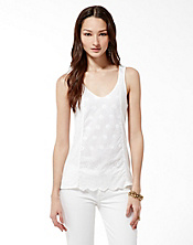 Kora Eyelet Tank Top