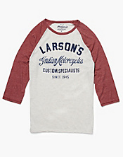 Larsons Indian Baseball T-Shirt