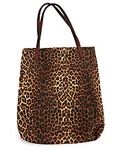 Leopard Canvas Tote*