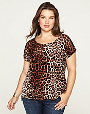 Leopard Velvet Top