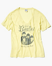 Les Beatles Oversize T-Shirt