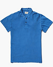 Linen Polo Shirt