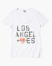 Los Angeles Arrow Scoop Neck T-Shirt
