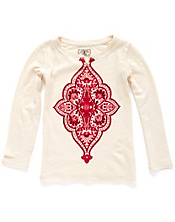 Medallion Long-Sleeve Tee