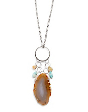 Melissa Joy Manning Agate Charm Necklace