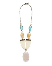 Melissa Joy Manning Geode Tribal Necklace