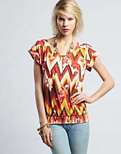 Mimi Zigzag Top*