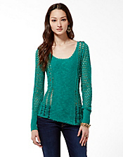Miranda Mixed Stitch Sweater