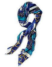 Multi Chevron Printed Scarf