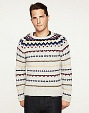 Multi-Colored Lambswool Sweater*