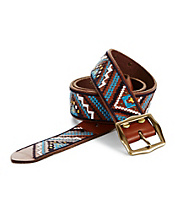 Multi Geometric Embroidered Belt