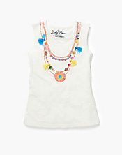Necklace Muscle T-Shirt