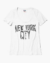 New York City Scoop Neck T-Shirt