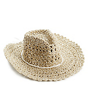 Open Weave Cowboy Hat